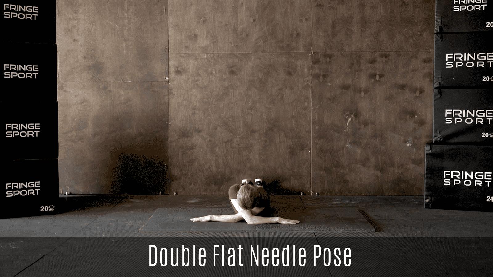 double flat needle pose demo