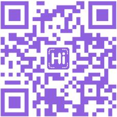 HiHello QR code