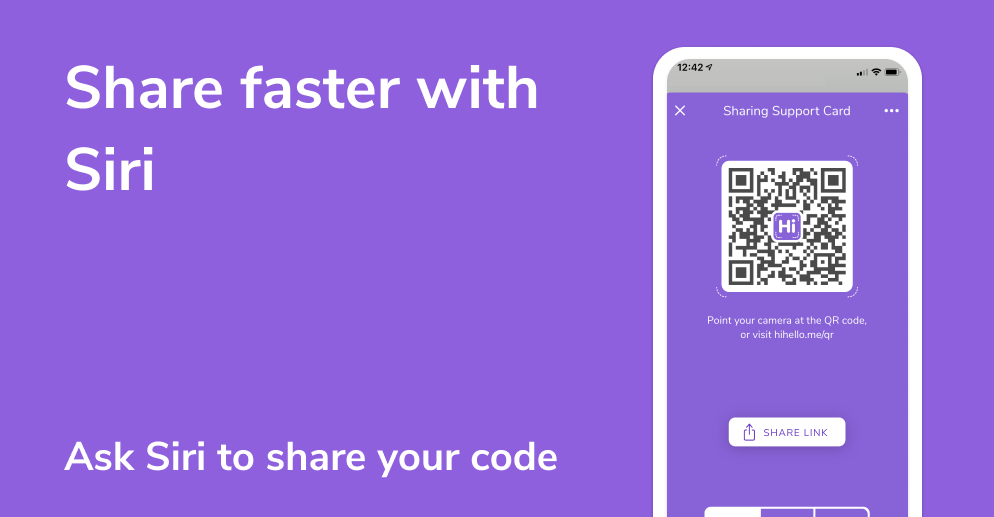 Share your digital business card with an Apple Watch