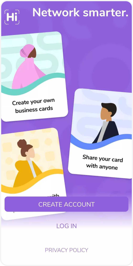 Create a HiHello account for free to make your own digital business cards and network smarter.