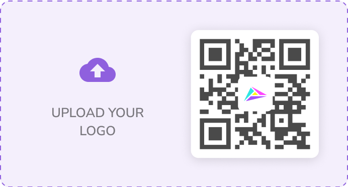 With HiHello Professional you can insert your company's logo into your virtual business card's QR code.