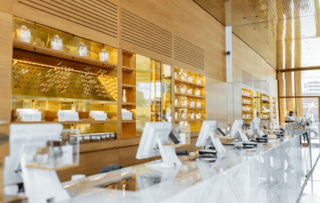medical marijuana dispensary interior