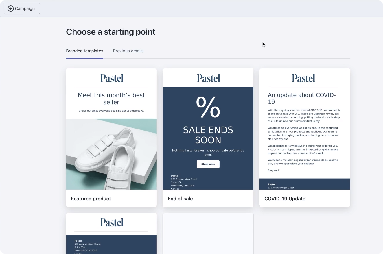 Shopify email can be usefl for creating pretty emails with little to no design work