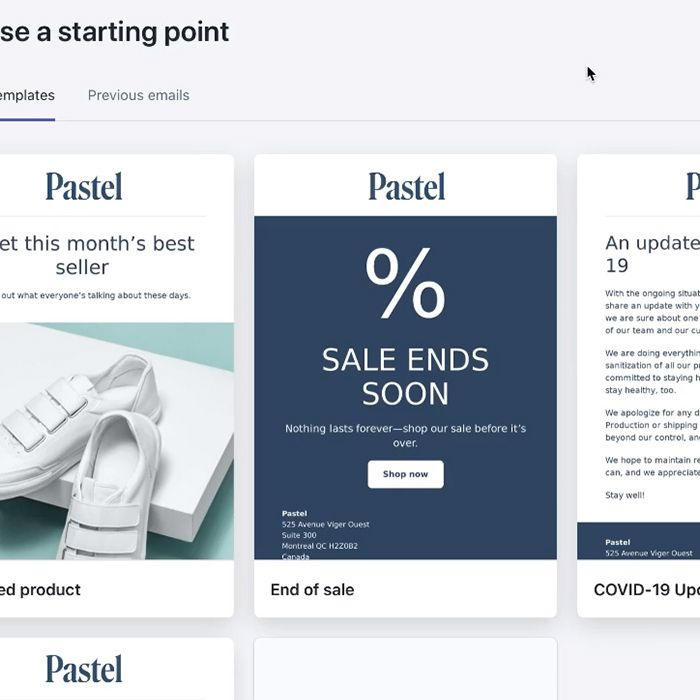 Shopify has just announced a new email marketing platform
