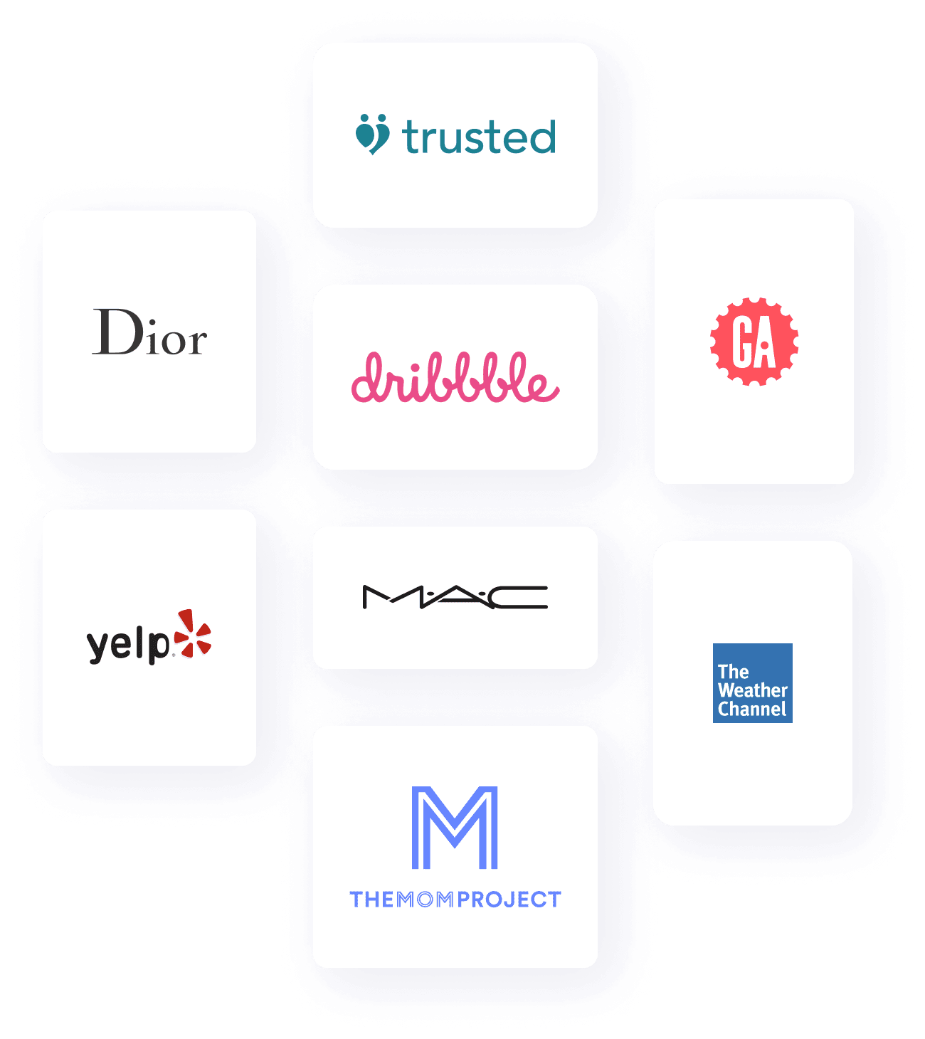 Nicole's experience in logos
