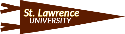 St Lawrence University Pennant