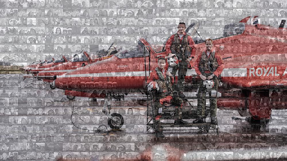 Aviators Ball Mosaic