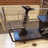 electric shopping cart repair