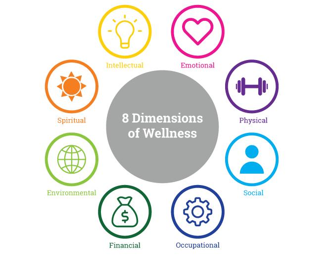 Source: Tudsu.tv, Eight Dimensions of Wellbeing