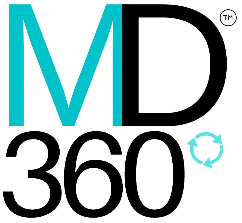 MD360 Logo Black