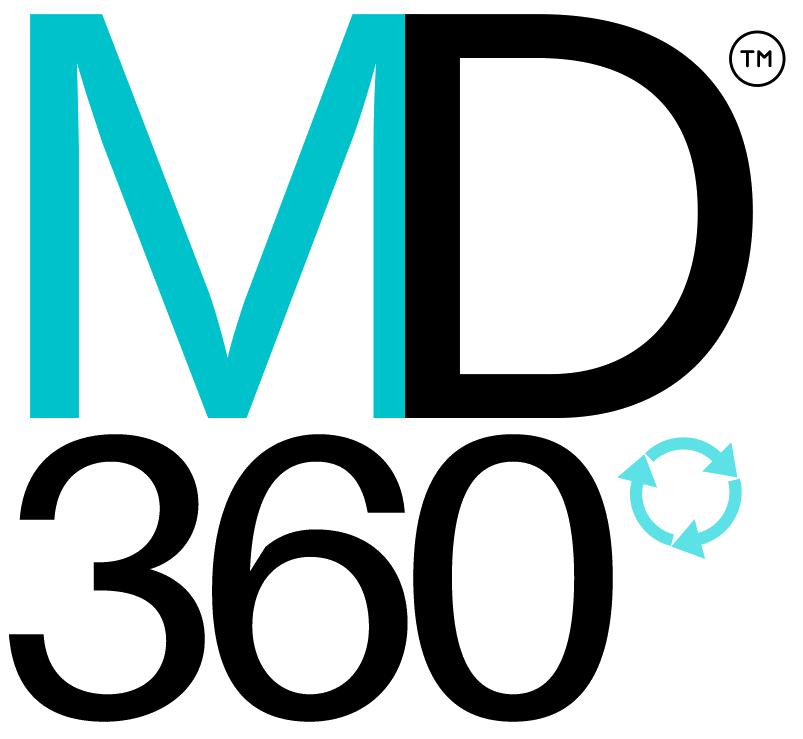 MD360 Logo Black