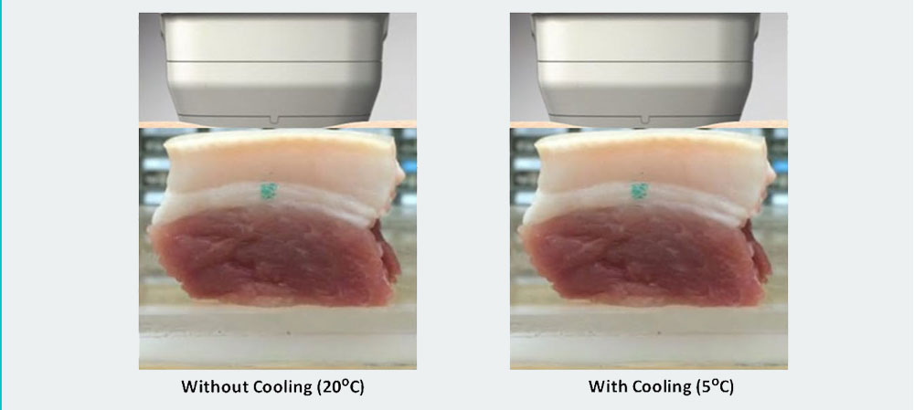 With and Without Cooling