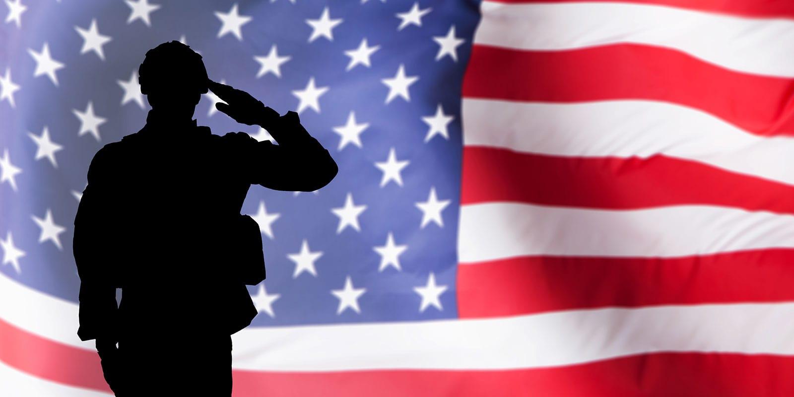 American Flag Salute