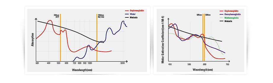 Picocare Absorption Chart