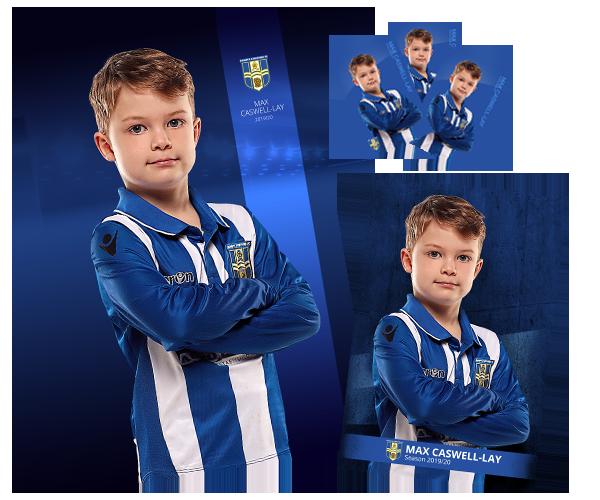Player football photographs