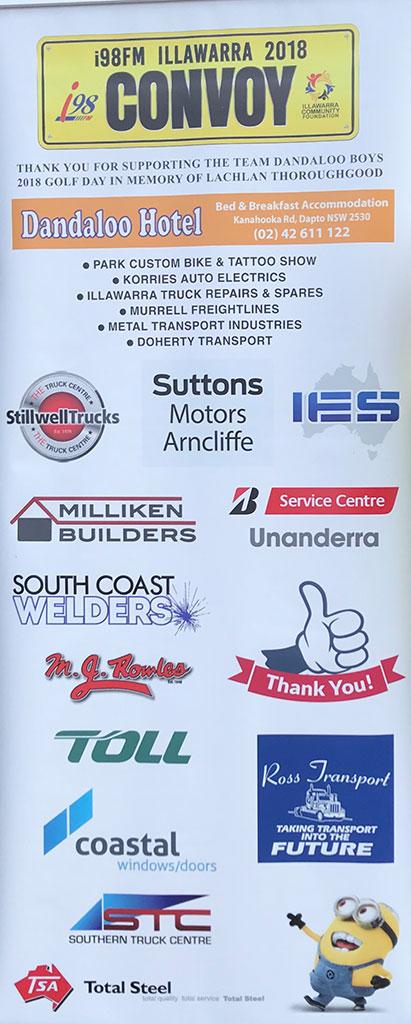 SCW supports i98 Illawarra Convoy Dandaloo Hotel