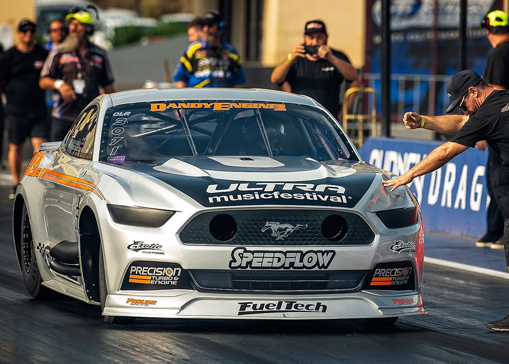 carl cox sponsored, profab motorsport ford mustang