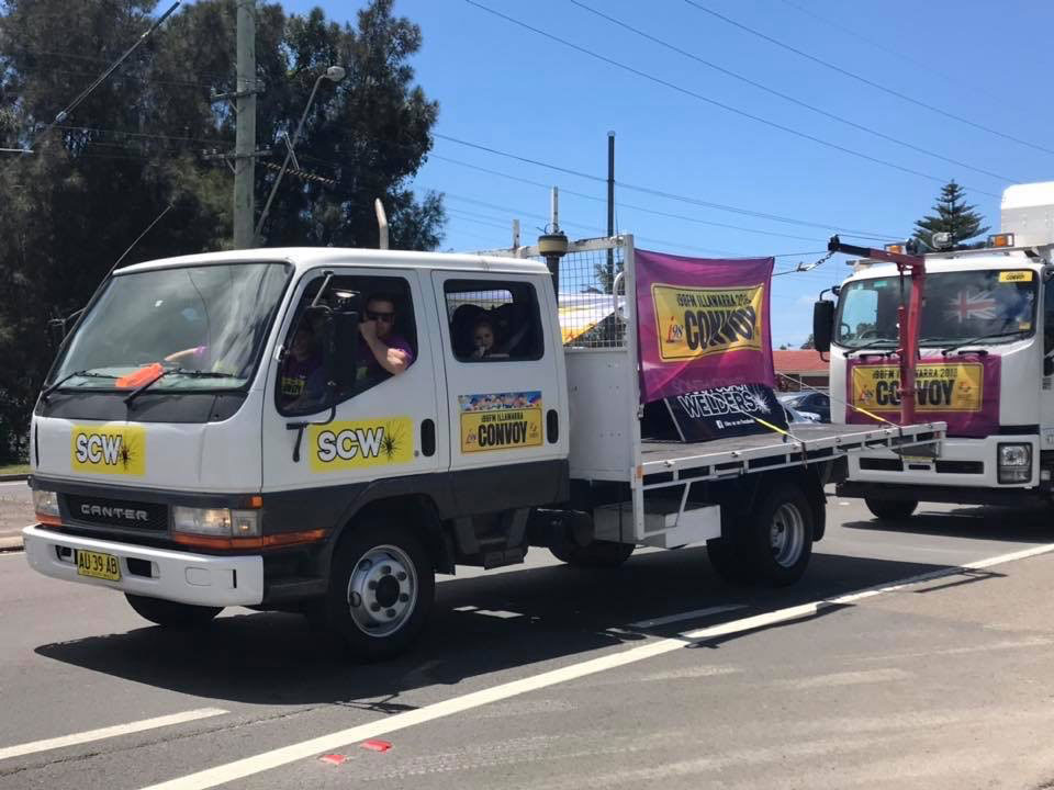 South Coast Welders i98FM Illawarra Convoy Truck