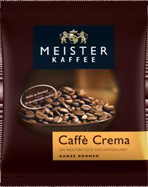 Meister Kaffee Röstkaffee - Caffé Crema 500 g