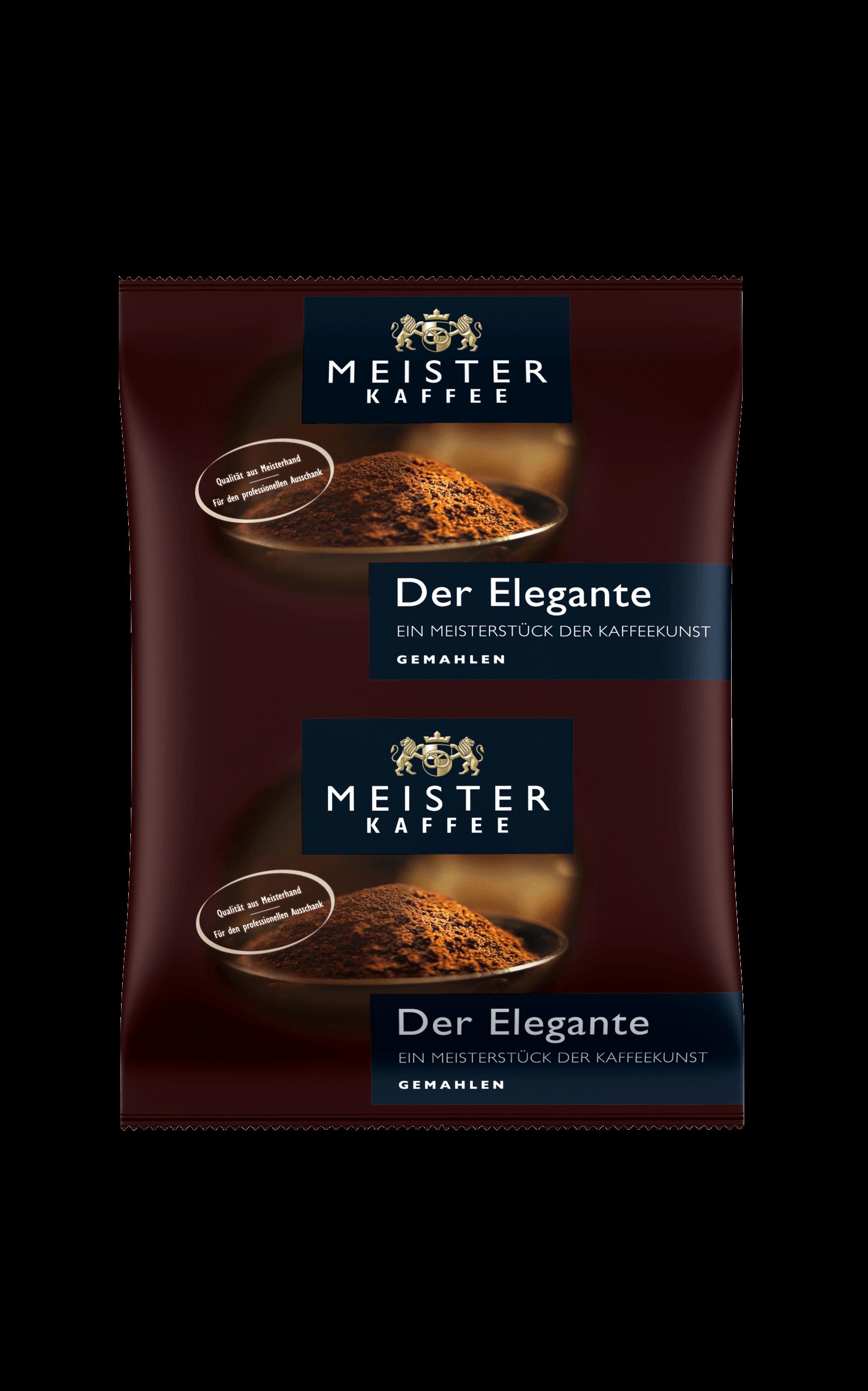 Meister Kaffee Der Elegante aromatisch 80 x 70 g
