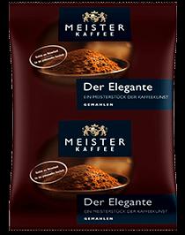 Meister Kaffee - Der Elegante Mild 80 x 70 g