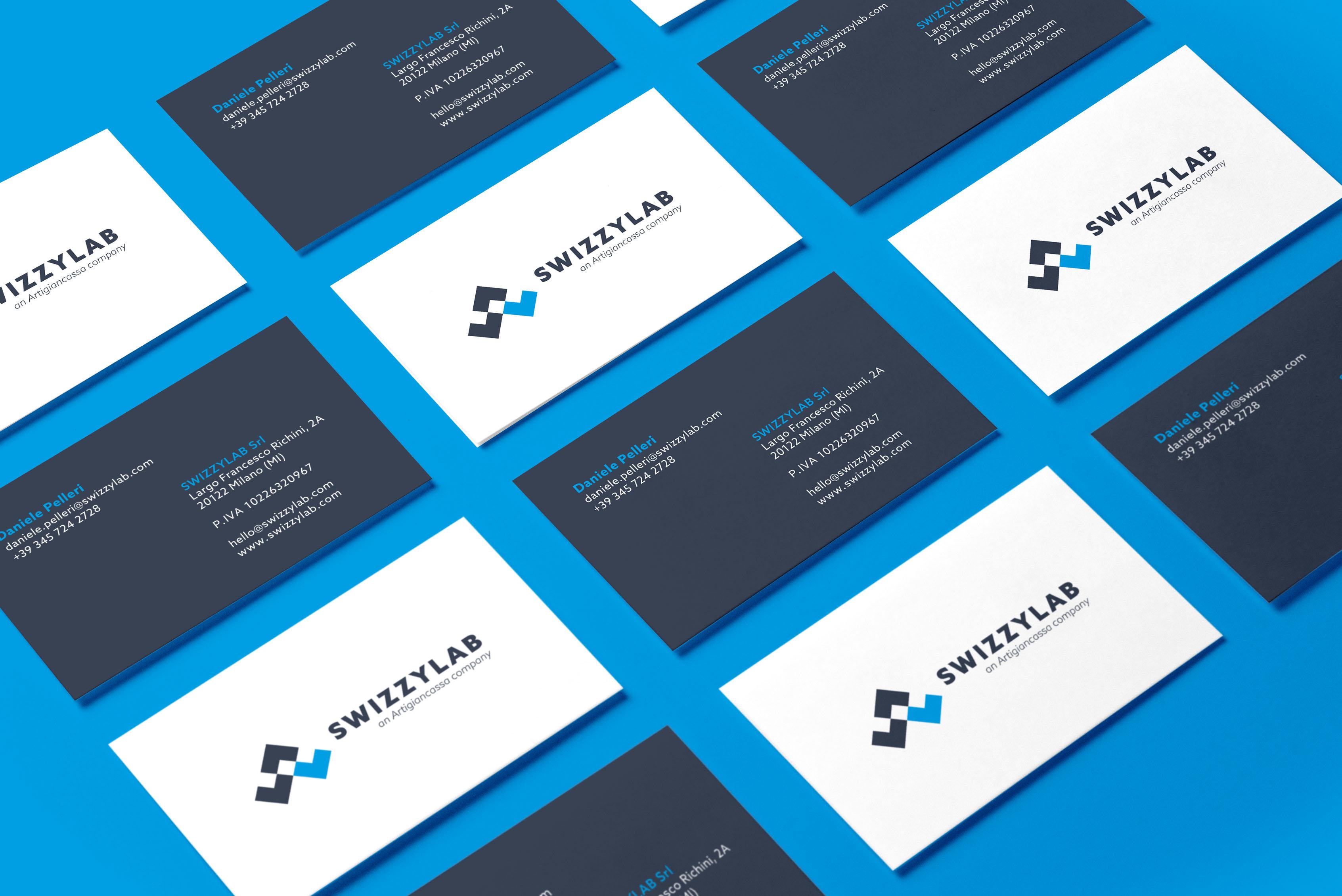 design biglietti da visita brand