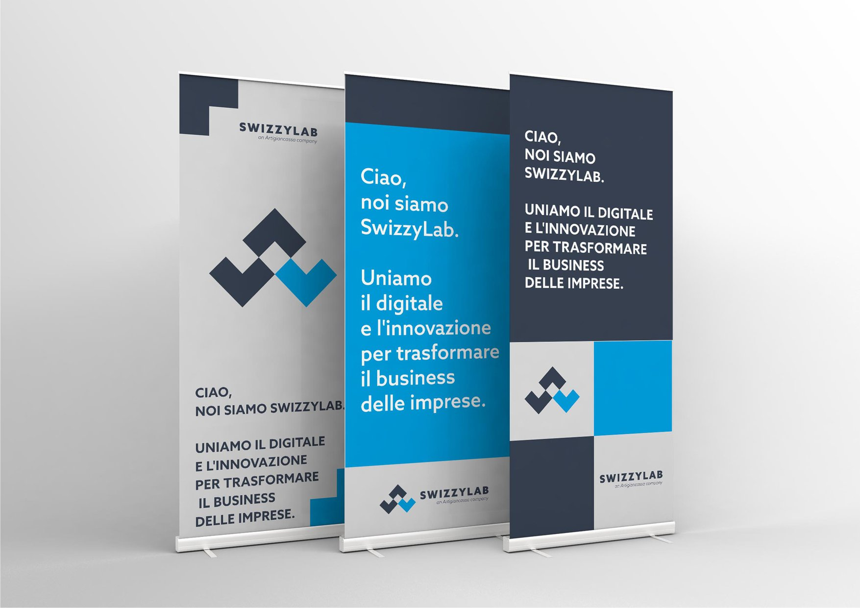 design roll-up per eventi e fiere