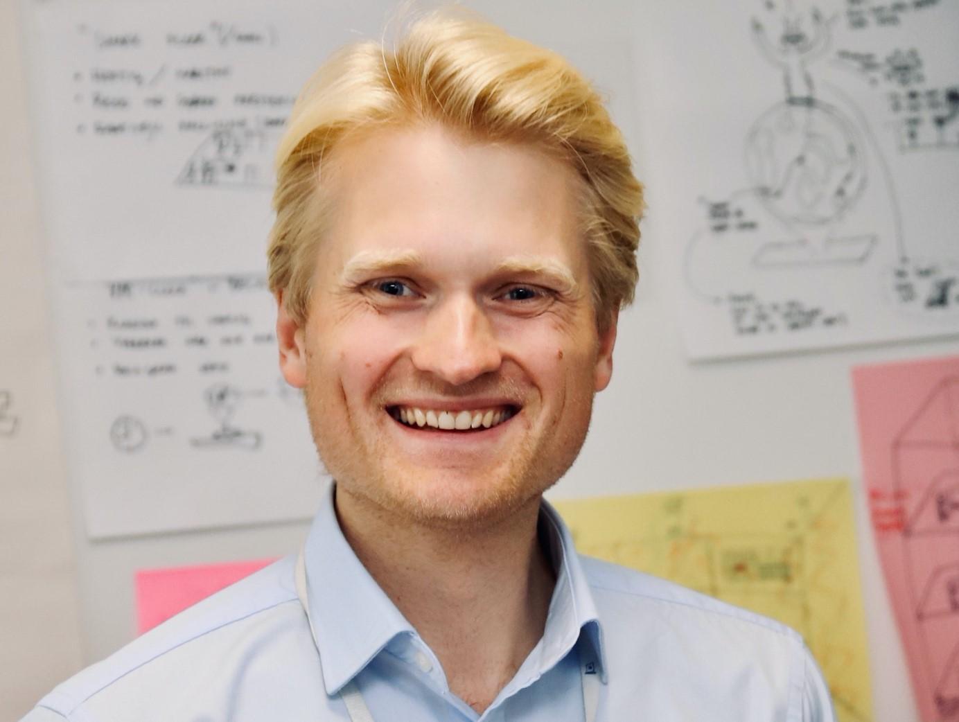 Magnus Dickens, Venture Lead Wilhelmsen MP