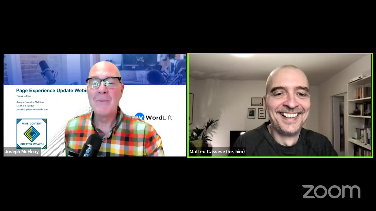 Facebook Live Video from 2021/04/02 - Growing your Audience with AI & WordLift