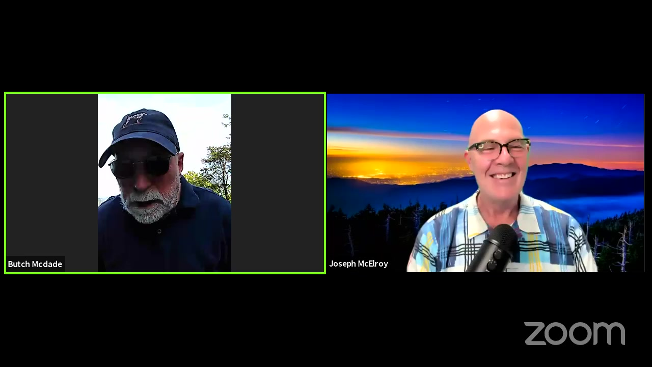 Facebook Live Video from 2021/04/27 - Butch McDade & the Smoky Mountain Field School