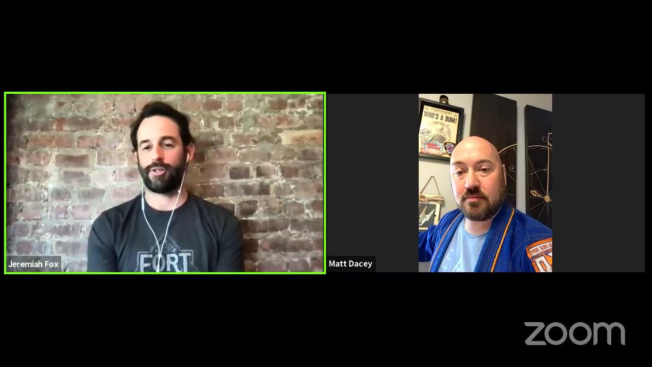 Facebook Live Video from 2021/04/30 - Jiu Jitsu Your Business Plan