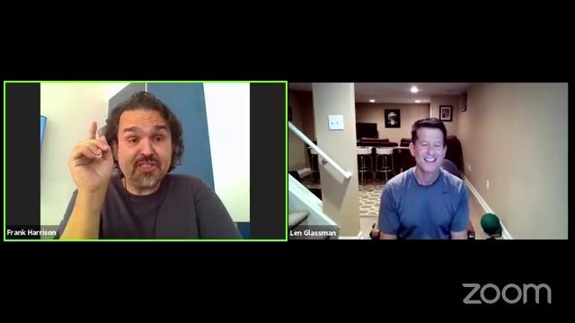 Facebook Live Video from 2021/07/22 - Frank About Soul Trainer with Len Glassman