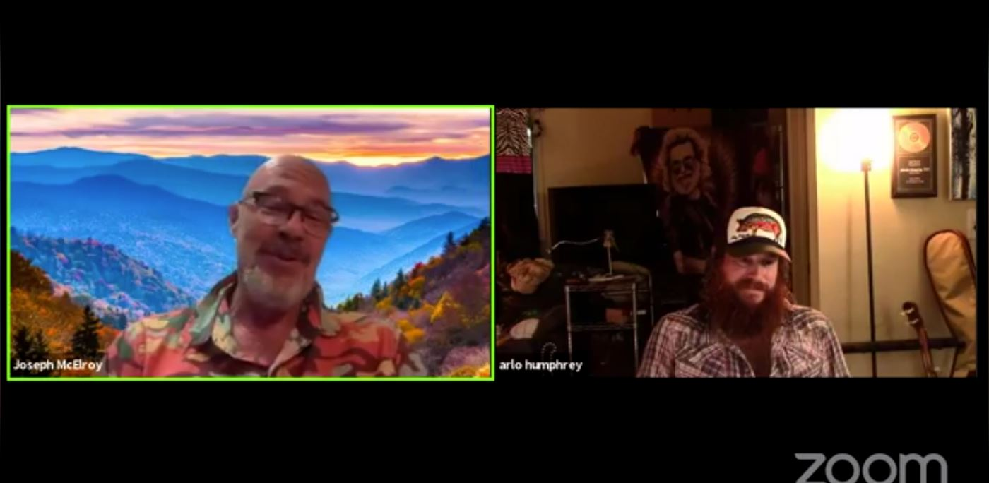 Facebook Live Video from 2021/08/24 - Music on the Fly fishing in the Smokies with Charles Humphrey III