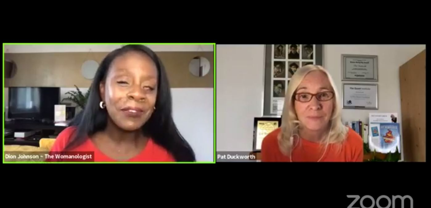 Facebook Live Video from 2021/09/09 - Showing Up For Real As A Woman Leader