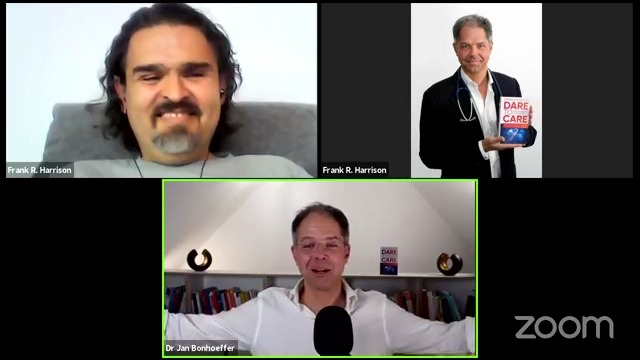 Facebook Live Video from 2021/09/16 - Frank About Health Dares To Care with Dr. Jan Bonhoeffer