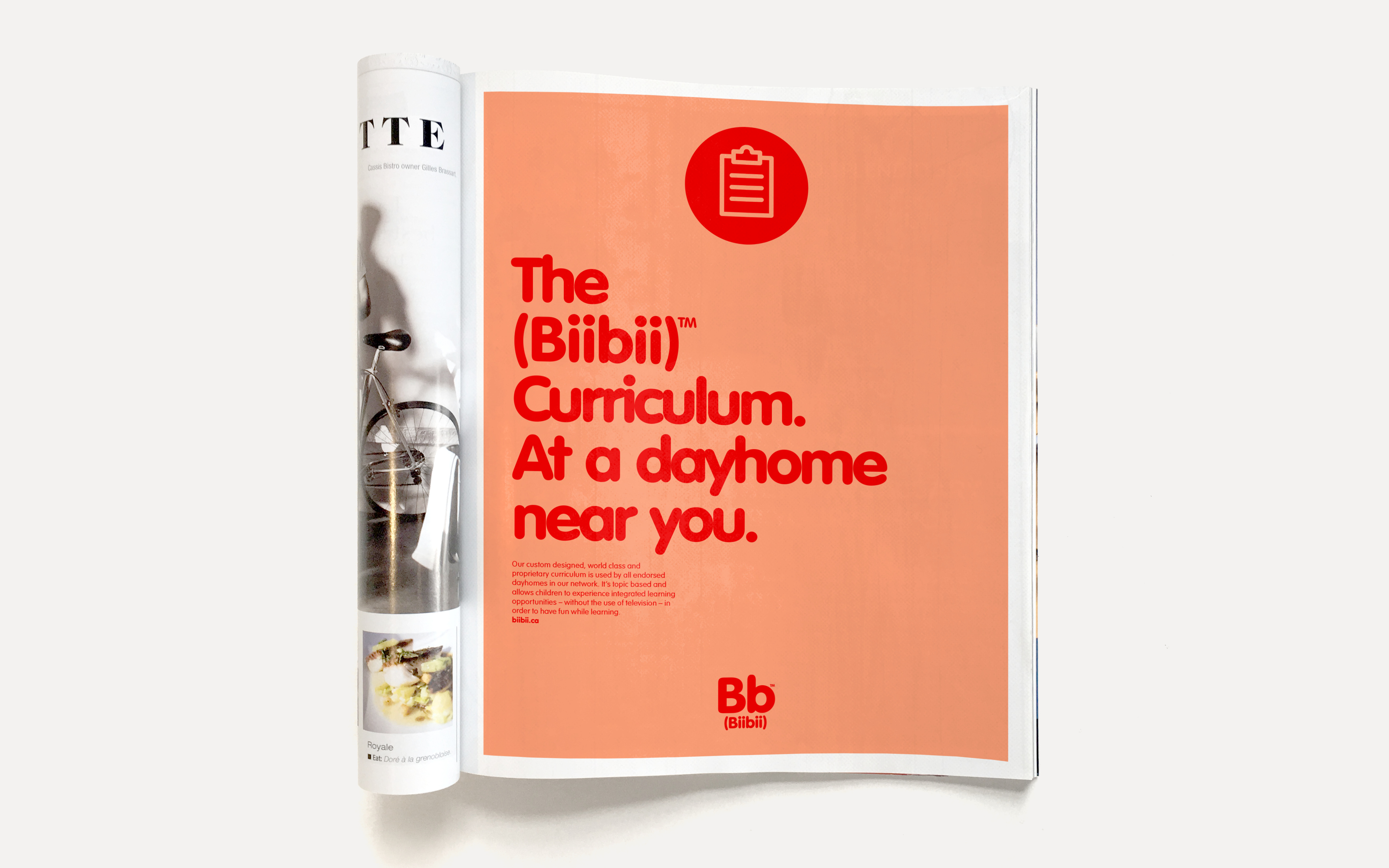 &then™ Biibii Print Ads