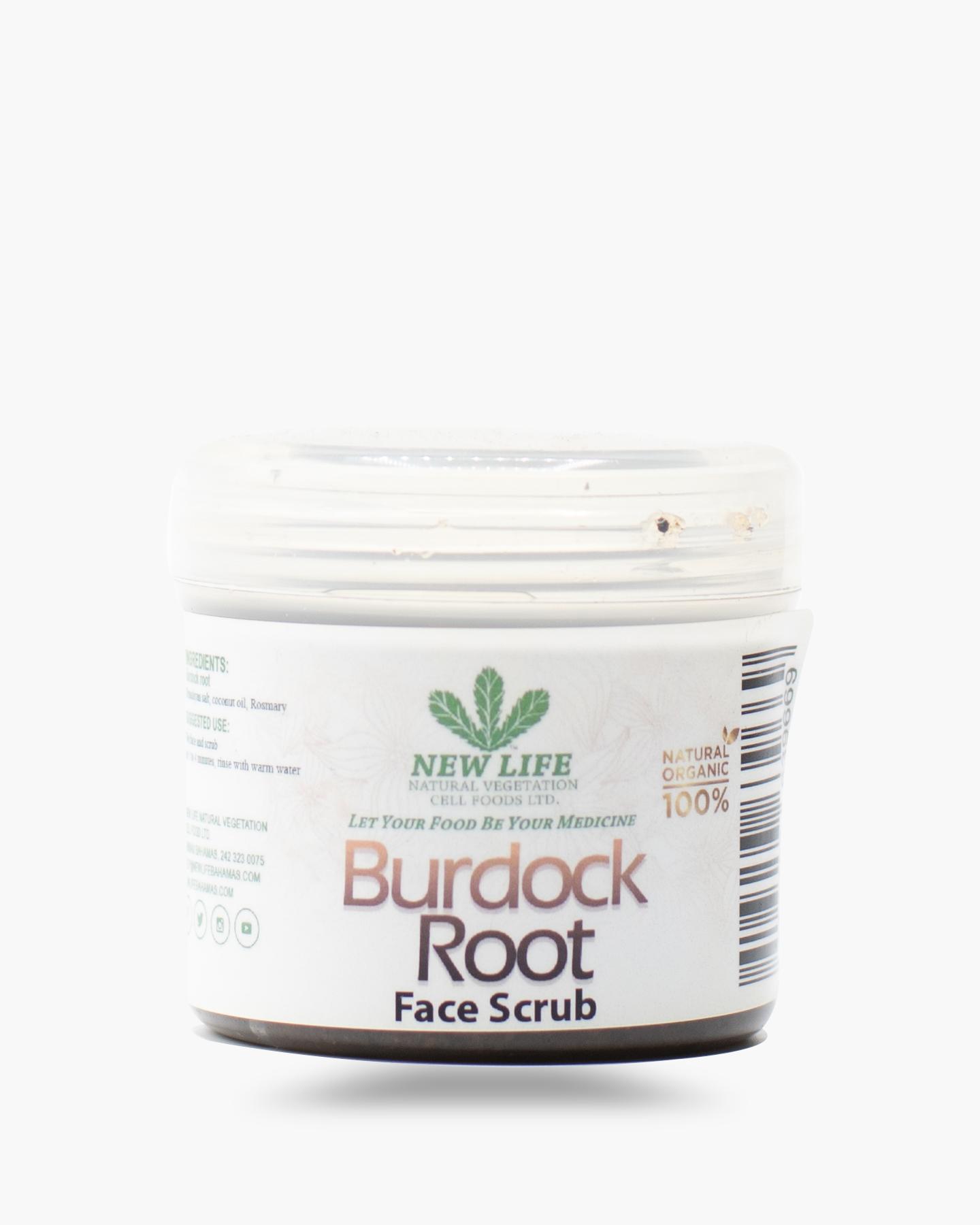 Burdock Root Face Scrub