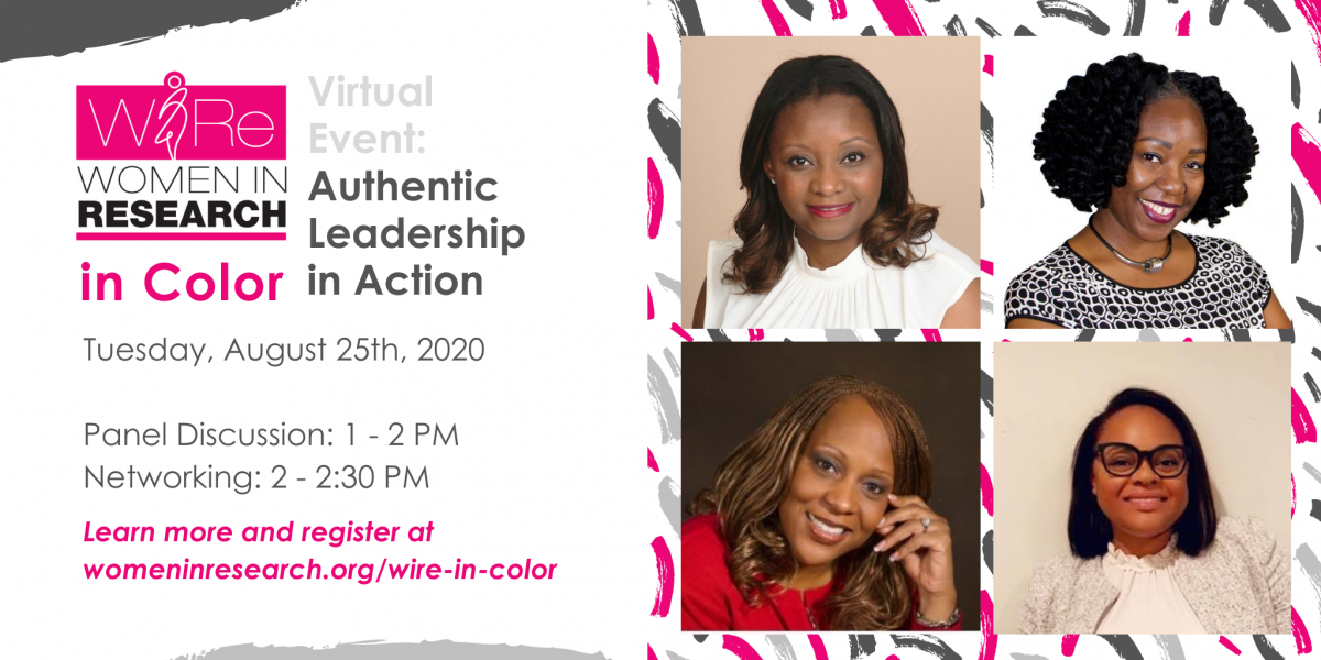 WIRe In Color Virtual Event: Authentic Leadership in Action