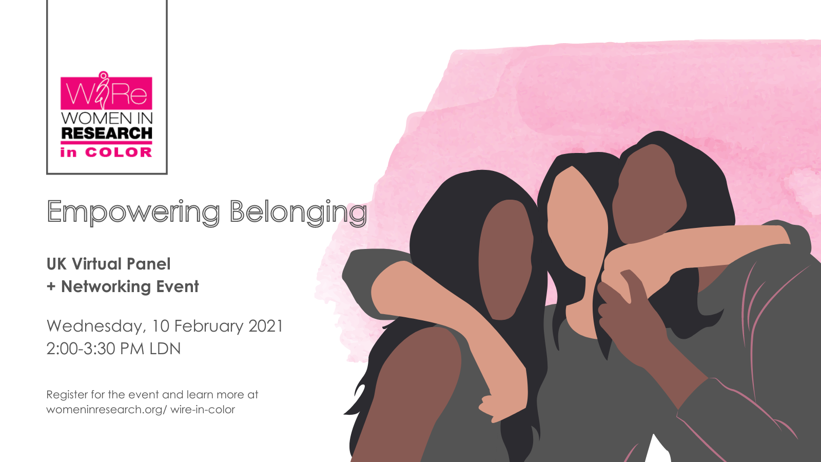 WIRe in Color UK Virtual Event: Empowering Belonging