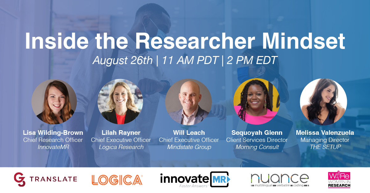 """WIRe + TMRE: """"Inside the Researcher Mindset - Live!"""""""