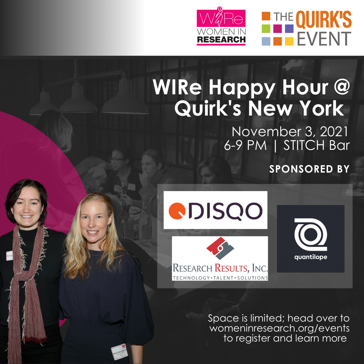 WIRe Happy Hour @ Quirk's New York