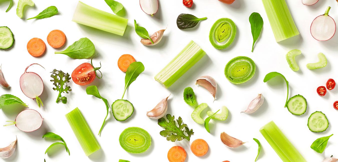 Vegetales pre-lavados y cortados