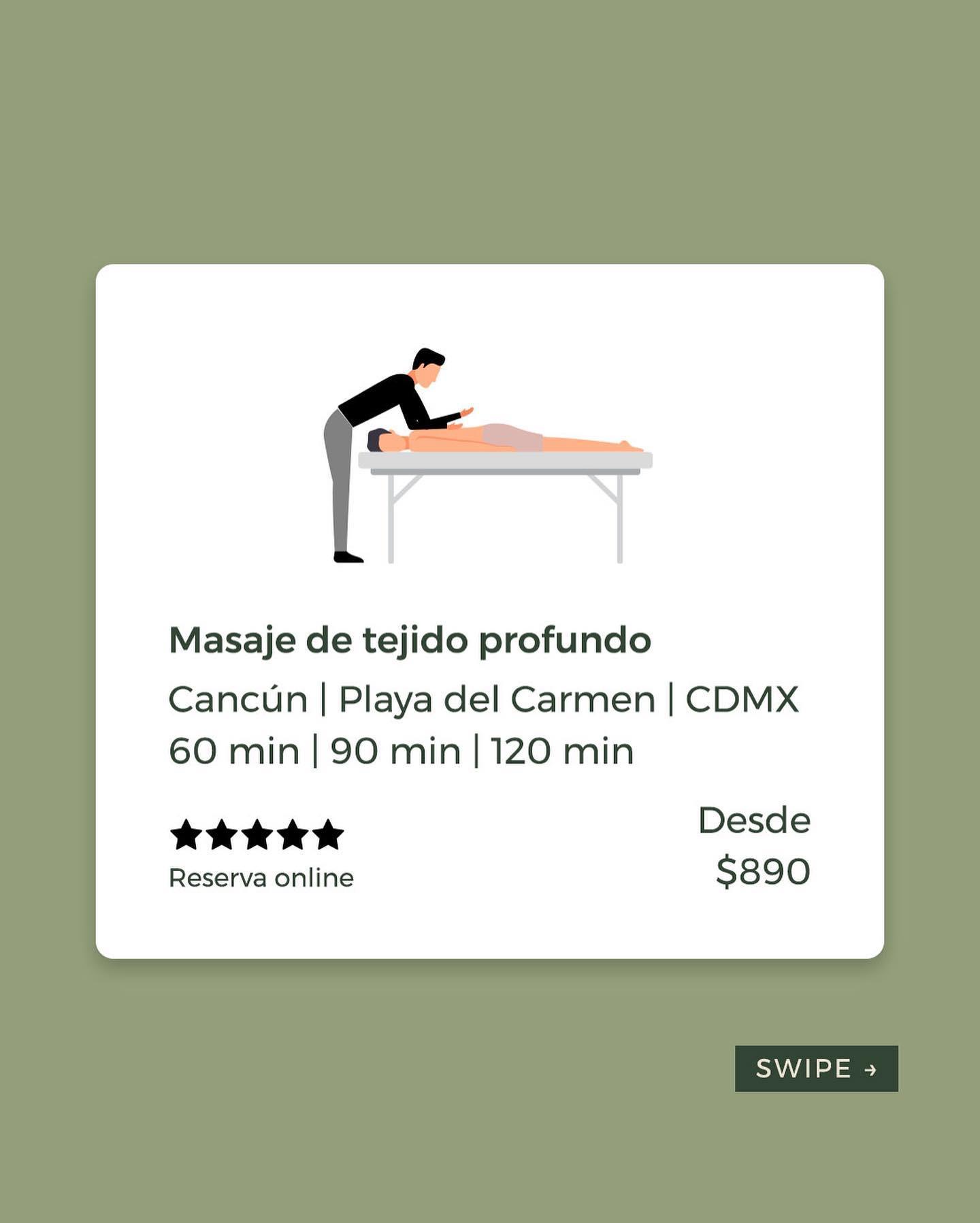 Si padeces de dolor muscular, contracturas y rigidez recurrentes, te interesa el masaje de tejido profundo.   Pero, ¿qué es u
