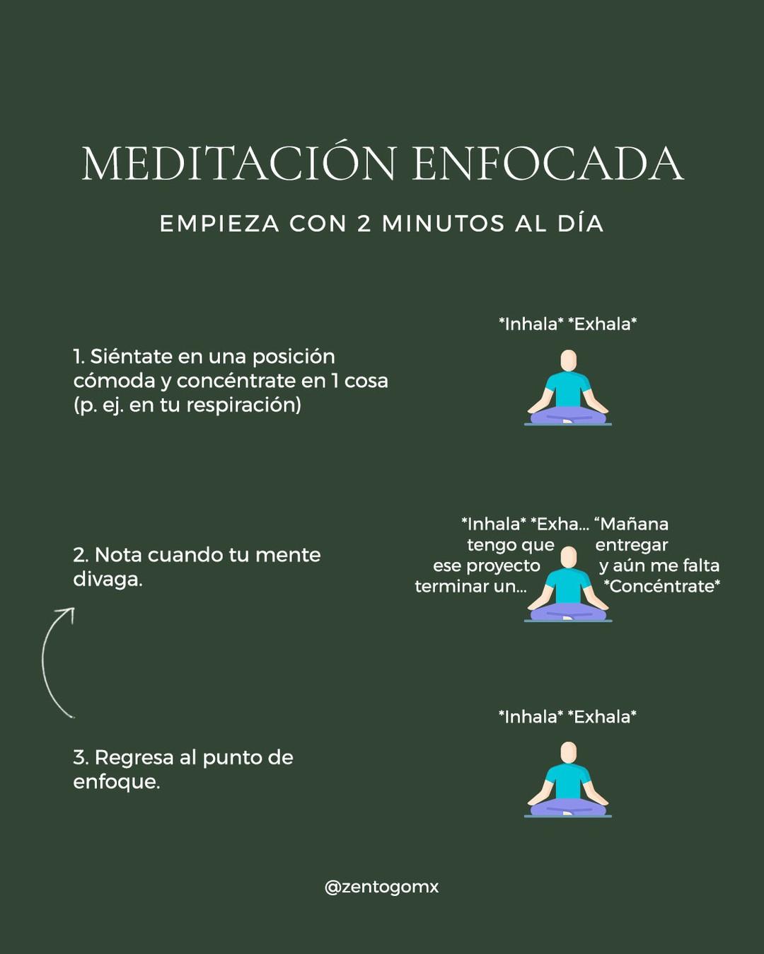 🧘🏻Si ya has intentado meditar pero has desistido, es muy probable que hayas querido comenzar con un tipo de meditación muy
