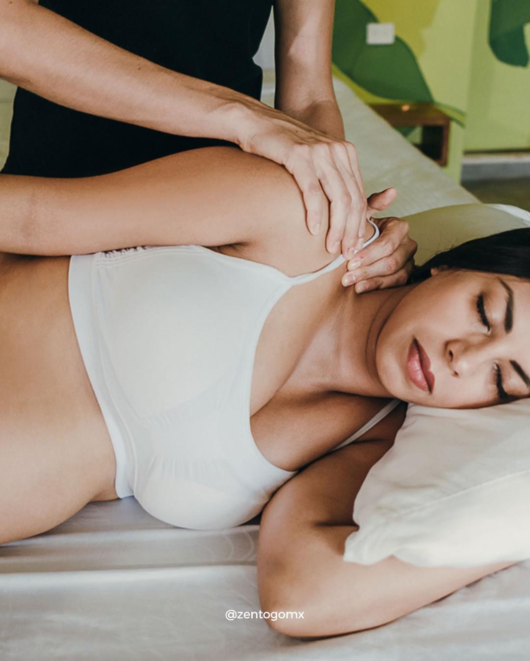 Esperar al segundo trimestre del embarazo para recibir los primeros masajes, es una medida de prevención para evitar los ries
