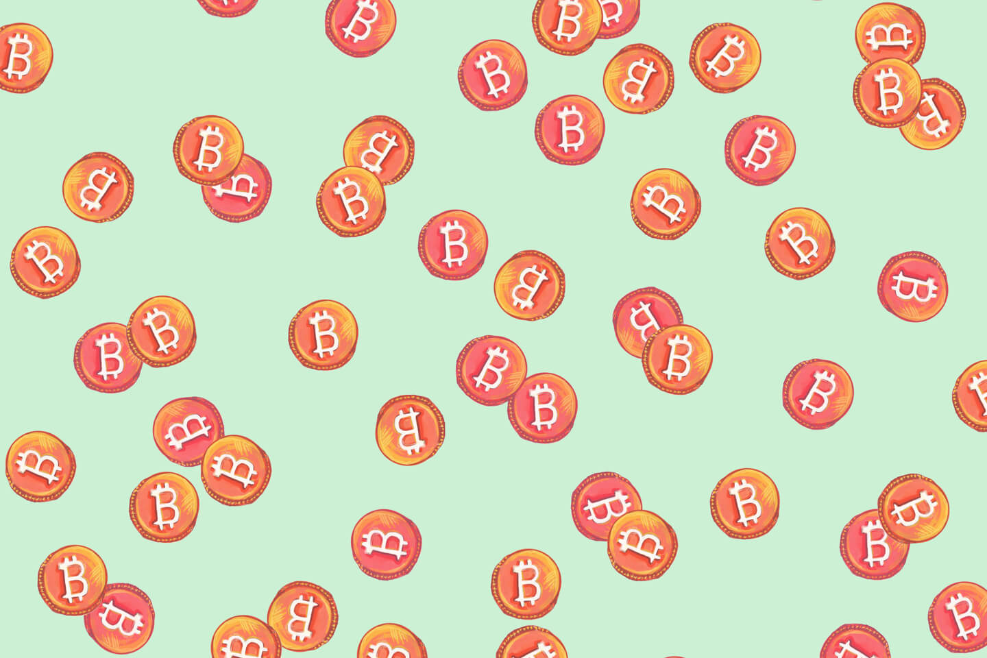 Bitcoin Themed Wrapping Paper