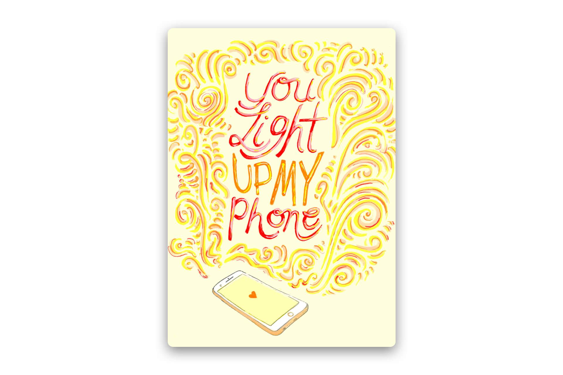 Light Up My Phone