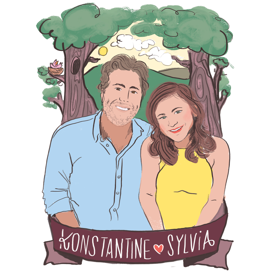 Sylvia and Konstantine