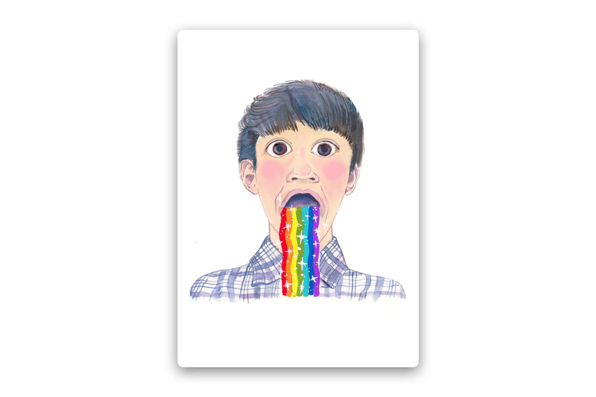 Rainbow Vommit