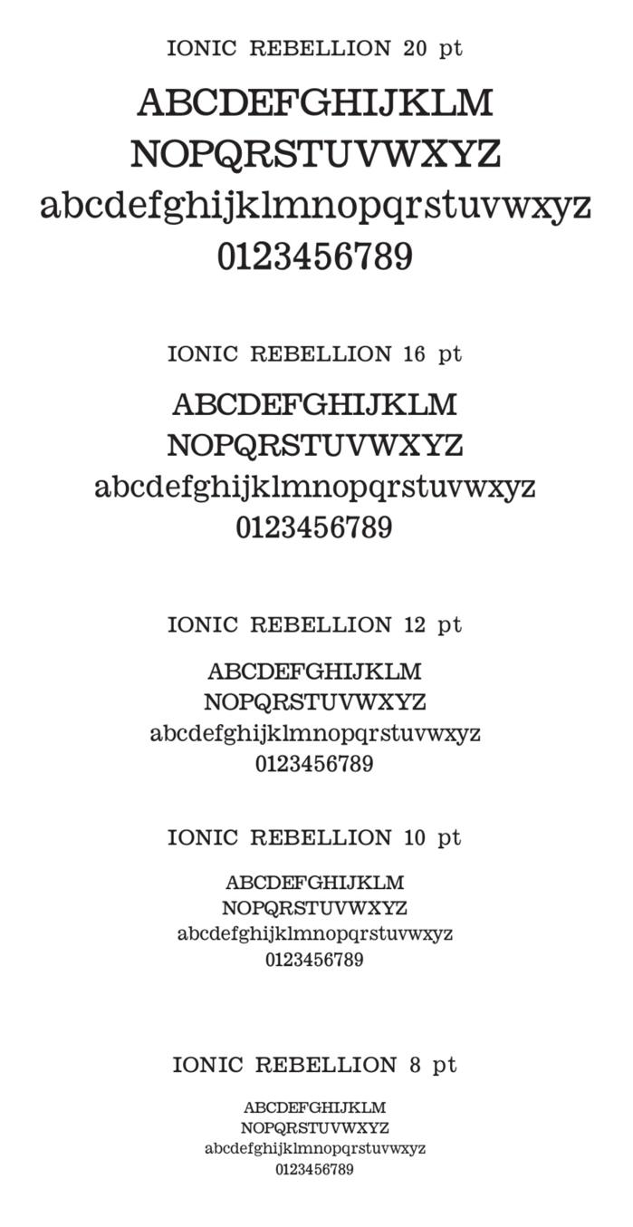 Ionic Rebellion